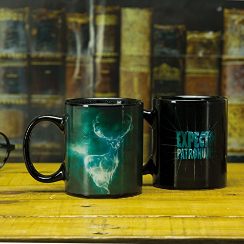 Harry Potter Patronus Heat Changing Ceramic Coffee Mug 10oz