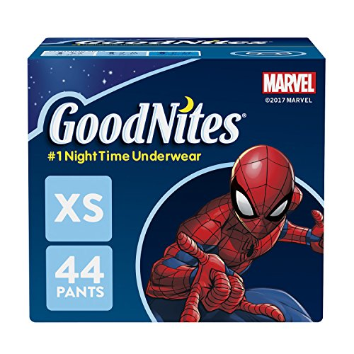 GoodNites Bedtime Pants for Boys, Size Extra Small