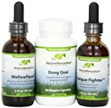 Native Remedies Dong Quai, MellowPause, and Fatigue Fighter UltraPack