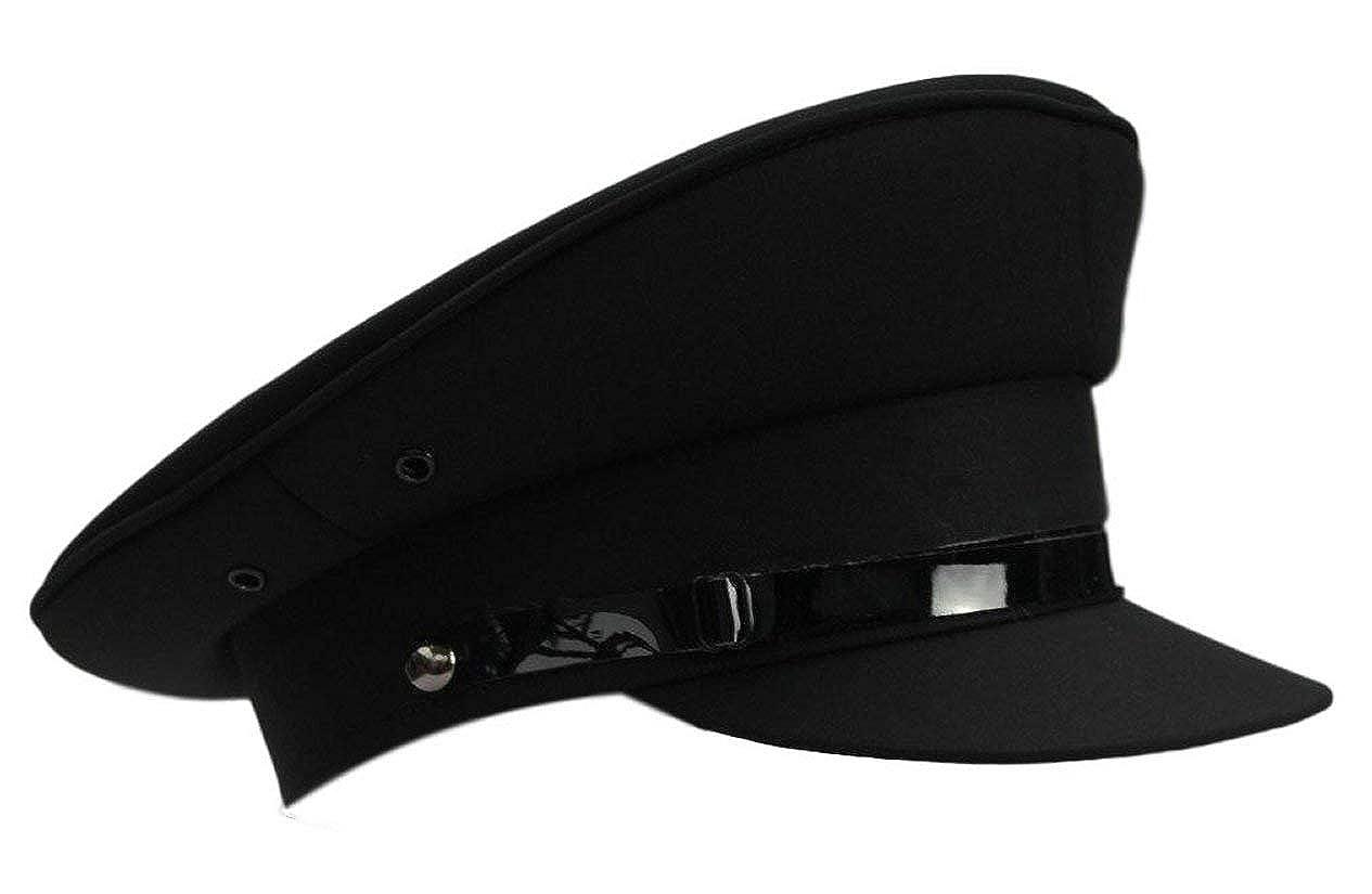 Black Chauffeur Style hat Size 60cm