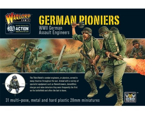 German Pioneers WWII German Assault Engineers - Bolt Action by Warlord Games