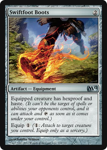 Magic: the Gathering - Swiftfoot Boots - Magic 2012
