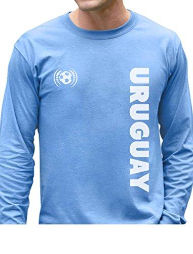 TeeStars - Uruguay National Soccer Team Soccer Fans Long Sleeve T-Shirt