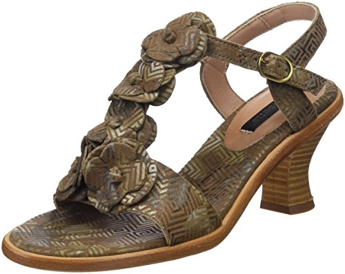 Neosens S982 Fantasy Geo Brown/Negreda, Sandali Punta Aperta Donna Marrone (Geo Brown)