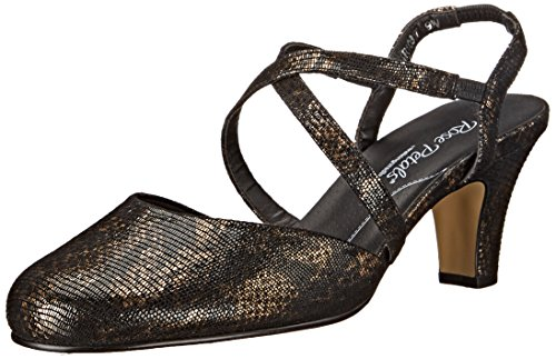 Rose Petals Women's Caliente Dress Pump Black/Bronze 9SLeW