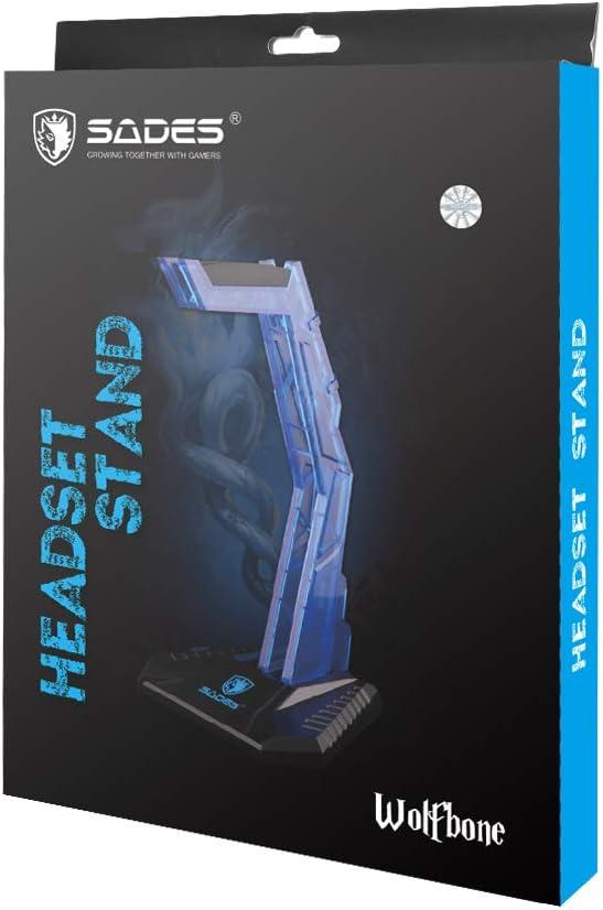 SADES Wolfbone Headset Stand Headphone Holder Earphone Stand