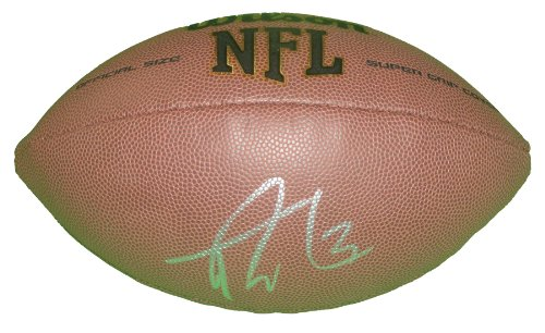 Cleveland Browns Trent Richardson Autographed Hand Signed NFL Wilson Football with Proof Photo of Signing, Indianapolis Colts, Oakland Raiders, Alabama Crimson Tide, Birmingham Iron, COA