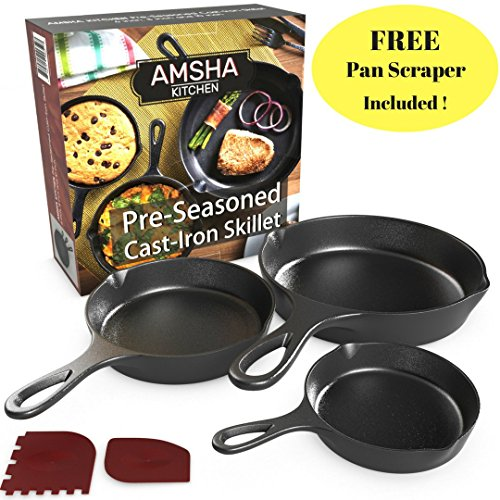 professional cast iron skillet - 3
