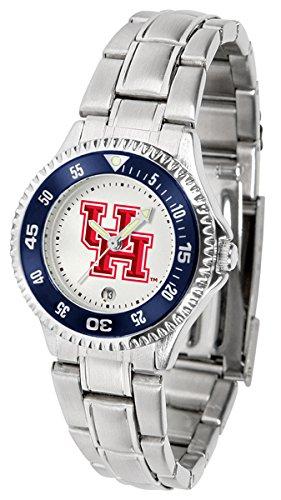 - Linkswalker Ladies Houston Cougars Competitor Ladies Steel Watch