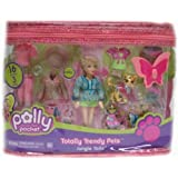 Polly Pocket Totally Trendy Pets Jungle Tails Polly Playset