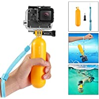 Generic Go Pro Accessory Kit - Handheld Monopod, Tripod, Floating Cover, Surface Buckles, Safety Buckle, Surfboard Mount