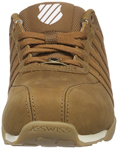 K-Swiss Arvee 1.5, Men's Low-Top Sneakers Brown - Braun (Cognac/Saddle/Antq White 213)