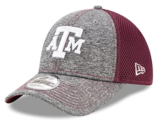 - New Era NCAA Texas A&M Aggies Adult Shadow Turn 9FORTY Adjustable Cap, One Size, Graphite