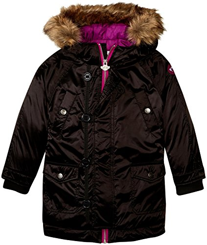 Appaman Girls' Morningside Anorak, Black, 3T by Appaman