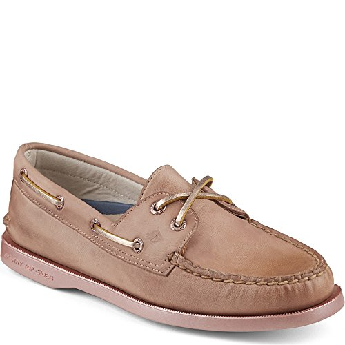 Sperry Top-sider Donna A / O 2-eye Bling / Gld Boat Shoe Rose