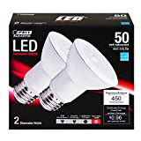 Feit PAR20/LEDG6/2/CAN 50W Equivalent Par20 Soft White LED (Pack of 2)