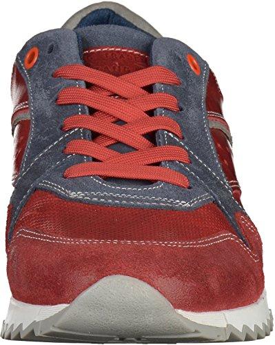 Mustang - Zapatillas de casa Hombre Rojo - Rot/Blau