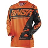 Answer Racing A18 Syncron Mens Off-Road Motorcycle Jersey - Orange/Grey/Large