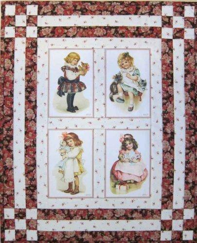 Olde America Antiques 'Ida Outhwaite Set #4' Cotton 4 x 6 Quilt Blocks by Olde America Antiques