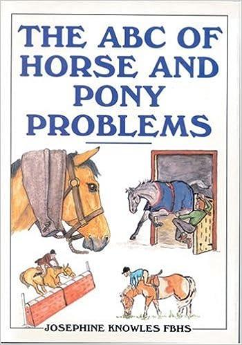 Meilleurs livres à lire télécharger The ABC of Horse and Pony Problems en français ePub 0851316913