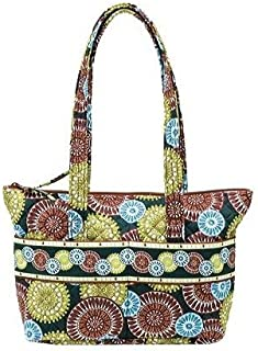 product image for Stephanie Dawn Zip Tote - Citrus Harvest New Quilted Handbag USA 10016-006