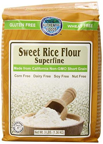 Compare Price: brown rice flour super fine - on