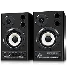 Behringer MS20 24-Bit/192 kHz Digital 20-Watt Stereo Near Field Monitors