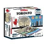 4D Cityscape CTY-4D105 4D Toronto Cityscape Time Puzzle