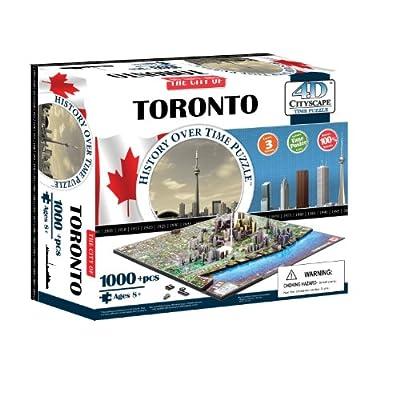 4d Cityscape Time Puzzle Toronto Inglese Giocattolo 4 Giu 2014