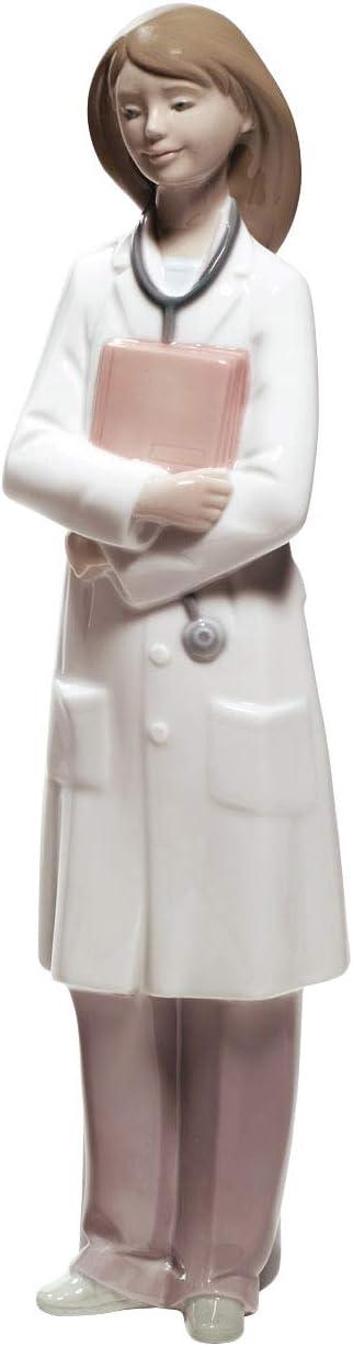 NAO Doctor – Female. Porcelain Doctor Figure.