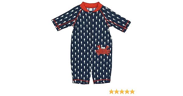 KIKO /& MAX Boys Baby Full Body Rash Guard Swim Suit Coverall