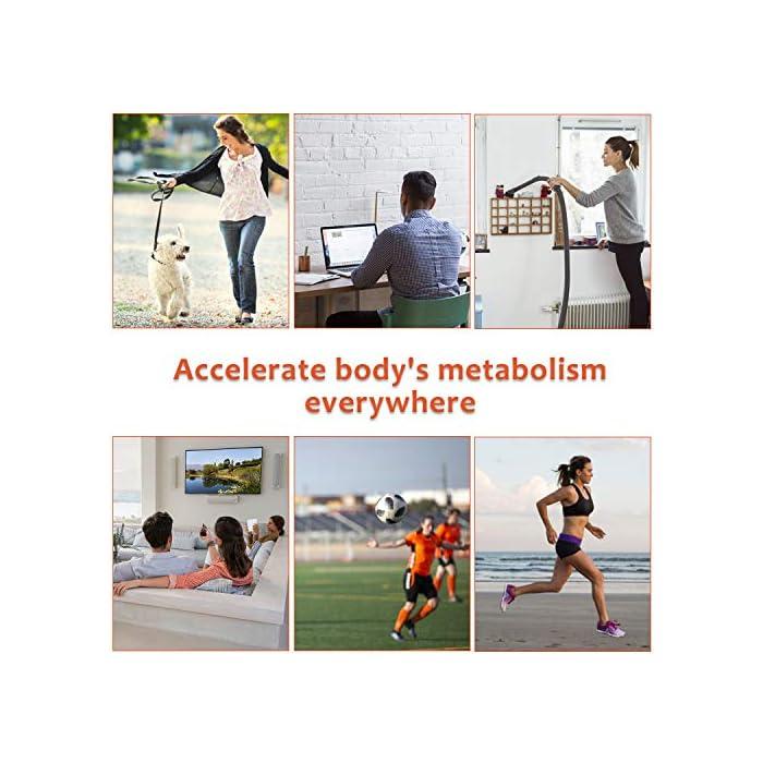 51Ww3hXY5JL 【10 Modos & 20 Niveles de Intensidad】 - EMS electroestimulador muscular abdominales es un diseño profesional para el entrenamiento muscular, se utiliza para diferentes ejercicios parciales del cuerpo. Hay10 modos y 20 intensidades disponibles para ayudar al crecimiento muscular y la quema de grasa, y mantener la forma del cuerpo. Simplemente coloque la colchoneta donde desea hacer ejercicio, solo necesita ajustar la intensidad de la comodidad. 【Flexible & Portátil & Fácil de Llevar】 - Puede comenzar su programa de acondicionamiento físico sin importar cuándo/dónde, como: hacer ejercicio mientras lee, hacer las tareas domésticas, trabajar, mirar televisión o incluso durante viajes de negocios o de placer, etc...El estimulador electrónico de abdominales se puede usar en cualquier momento y en cualquier lugar, ya que es lo suficientemente pequeño como para guardarlo en el maletín, es muy fácil de llevar. 【20 Minutos por Día】- Envía señales directamente a los músculos y promueve el movimiento muscular. Úselo para el entrenamiento del abdomen / brazo / pierna para tensar la grasa del vientre, perder peso rápidamente y entrenar más eficazmente. arregle el estimulador de abs en su cuerpo 20 minutos todos los días, lo que equivale a 2000 metros corriendo, 60 minutos de sentadillas, 60 minutos de natación libre, 2 semanas de dieta.