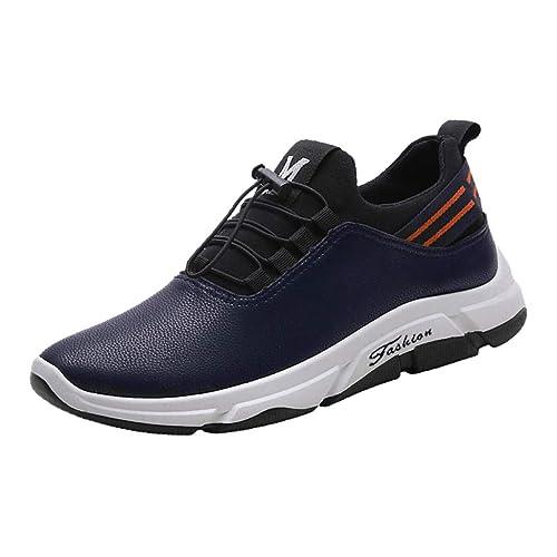 Zapatos Seguridad para Hombre,Zapatos Hombre Vestir, Calzado Casual para Hombre Calzado Sin Cordones Calzado Deportivo Calzado CóModo Calzado: Amazon.es: ...