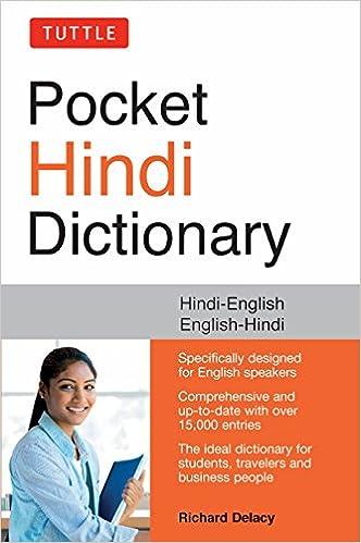 Tuttle Pocket Hindi Dictionary: Hindi-English English-Hindi (Fully