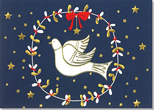 Dove of Peace Small Boxed Holiday Cards (Christmas Cards, Holiday Cards, Greeting Cards)