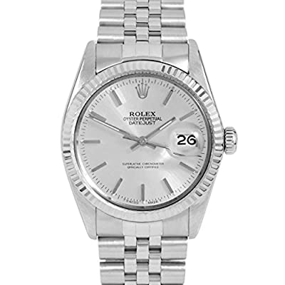 Rolex Datejust Swiss-Automatic Male Watch 16014 (Certified Pre-Owned) by Rolex