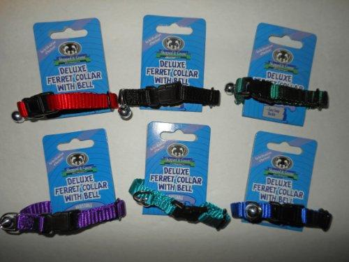 Sheppard & Greene Deluxe Ferret Bell Collar w/ Bell - 6 - Ferret Collar Bell