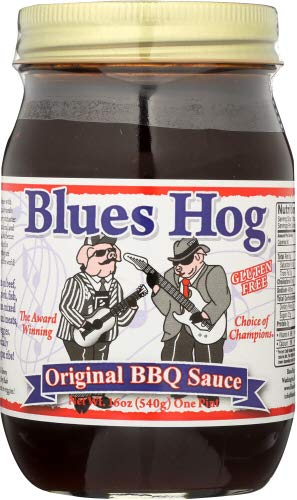 Blues Hog Original BBQ Sauce 16.0 OZ (Pack of 6)