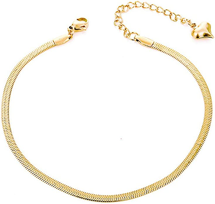 18K Rectangle Link Gold Anklet,Anklets for Women,Anklets,Paperclip Link Anklet,Gold Filled Anklet,Dainty Gold Anklet,Minimalist Jewelry,Gift