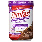 Slim Fast Advanced Nutrition, Meal Replacement or Weight Loss Shake, 20g High Protein Smoothie Powder, Creamy Chocolate, Gluten Free, 324g