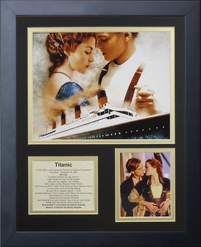 Legends Never Die Titanic Framed Photo Collage, 11 by 14-Inc