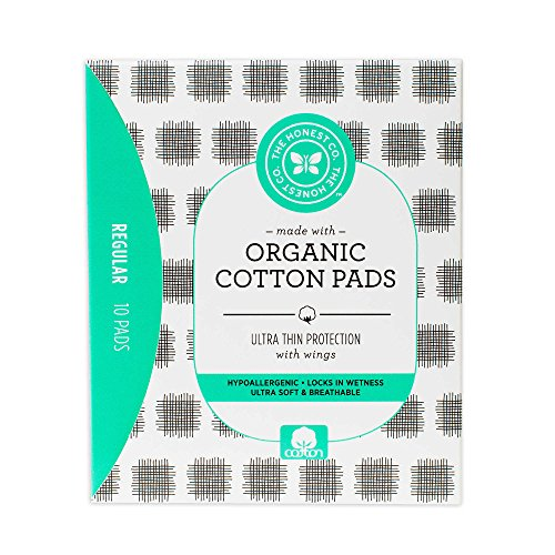 The Honest Company® 10-Count Regular Ultra Thin Organic Cotton Pads (2 Packs)