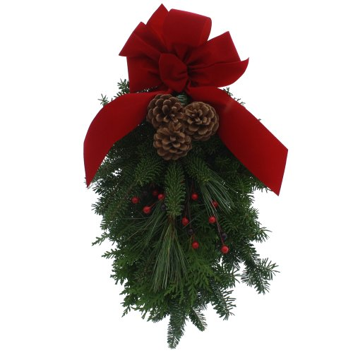 Worcester Wreath Holiday Maine Balsam - Christmas Swags