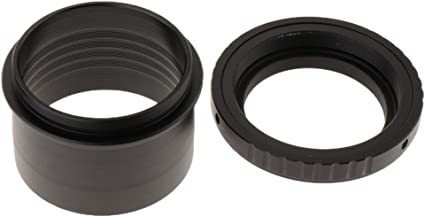 Baosity Metal 2 to T2 M420.75mm Thread Telescope Mount Adapter Accept 2 inch Filters