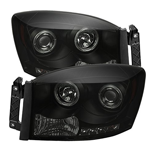 08 dodge ram smoked headlights - 9