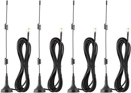 Tonton 2 Pack 10ft 7dBi Cable de extensión de antena WiFi con ...
