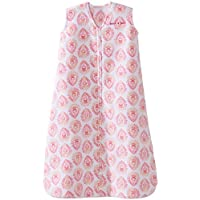 Halo Sleepsack, Micro-fleece, Medallion, Pink, Small