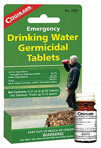 Coghlan's Drinking Water Tablets, 50 Tablets ()