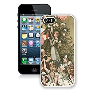 Diy Decorate Chirstmas Tree Iphone 5s Case,Phone Case For Iphone 5,Iphone 5 White TPU Cover
