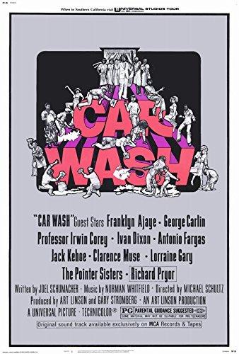 27 x 40 Car Wash Movie Poster